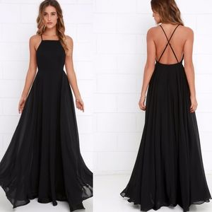 NWOT LuLu's Mythical Kind of Love Maxi Dress - S